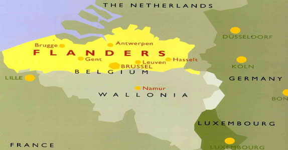 French and Dutch spoken in Belgium