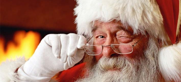 Santa is a busy man