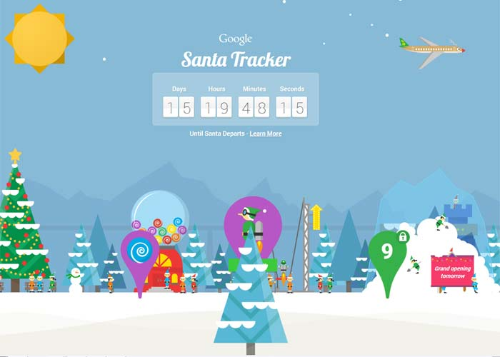 track santa with Google