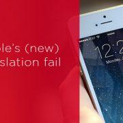 apple translation fail