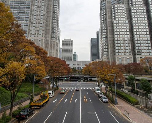 Tokyo's Metropolitan Government Building in Shinjuku