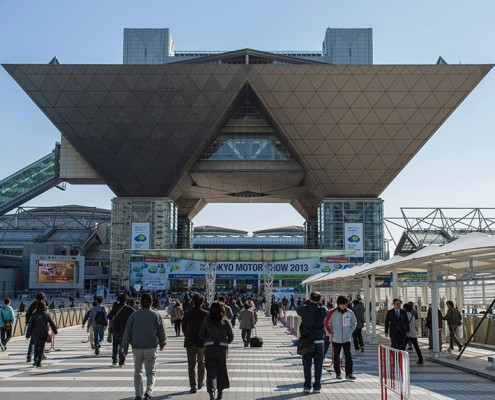 The awesome architecture of the Tokyo Big Sight