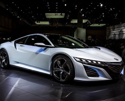 Honda's new NSX in the flesh at Tokyo Motorshow