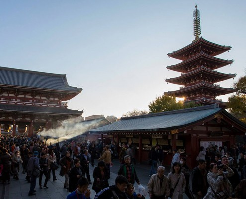 Asakusa's Kannon Temple
