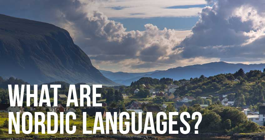 What are Nordic Languages?