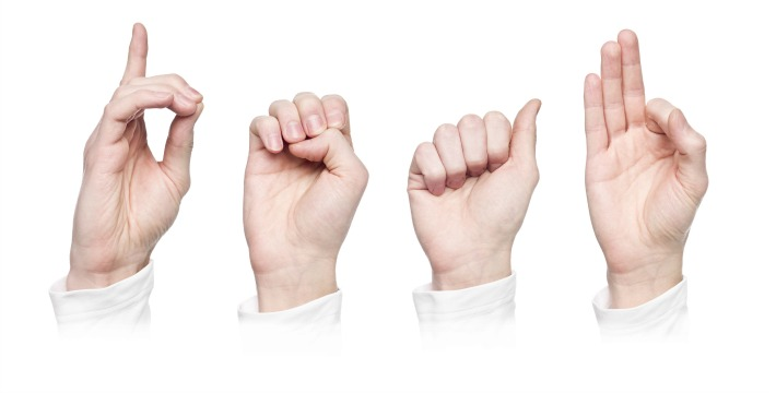 how to use sign language to communicate