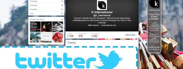 K International 2014 Twitter Template