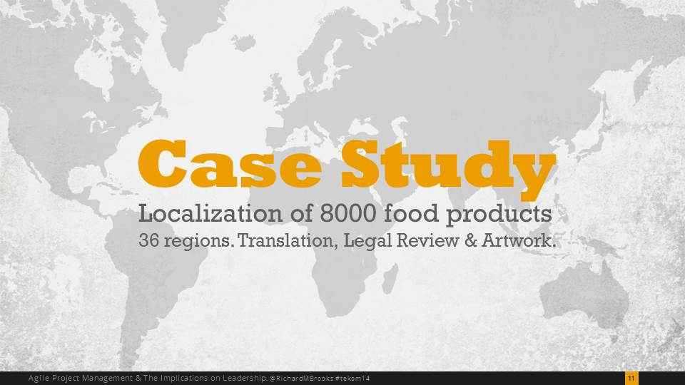 Localizing Food Packaging