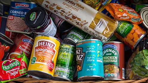 Supporting the MK Food Bank