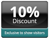 Translation discount for pharmacy show visitors