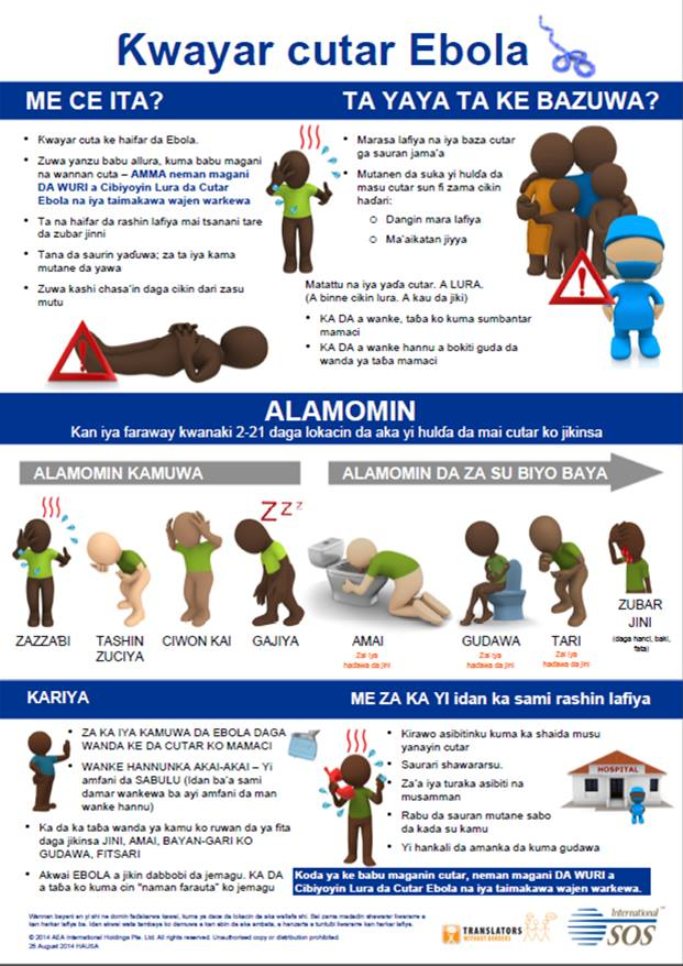 Translated Ebola Poster