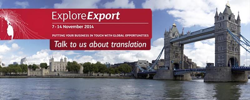 translating explore export