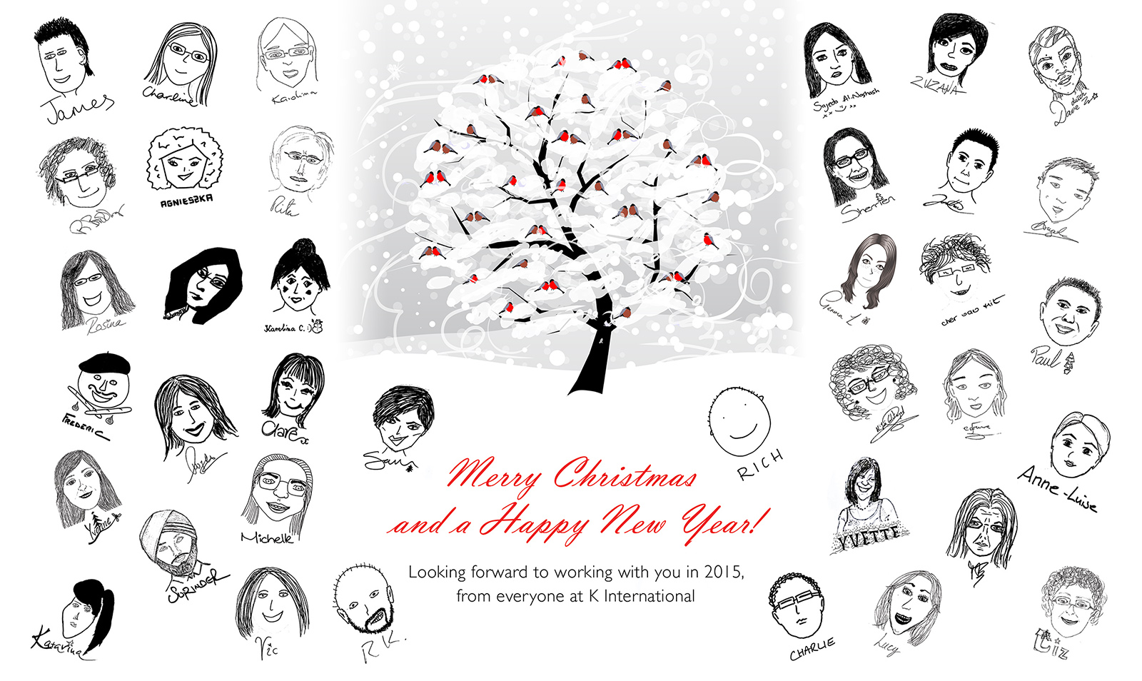 K International wish everyone we've worked with in 2014 a very Merry Christmas
