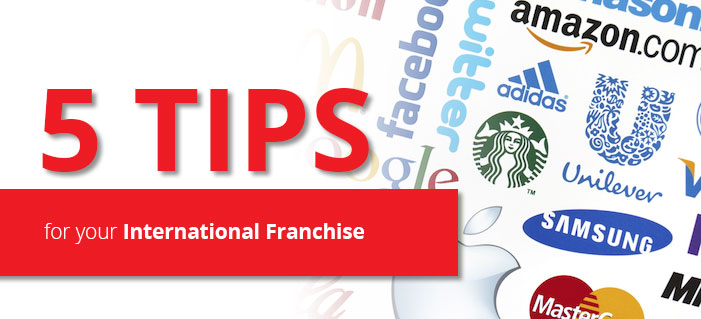 tips for a successful international franchise