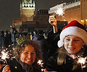 Russian NY Celebrations
