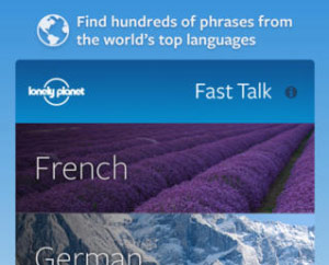 Lonely Planet Fast Talk phrasebook