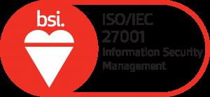 K International BSI Assurance Mark ISO-27001