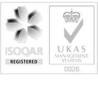 Quality Management Certified by ISOQAR