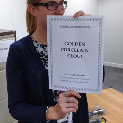 Sherrien's clog certificate