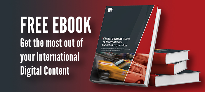 Ebook for developing international website content