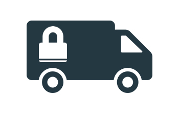 Secure Courier service and storage
