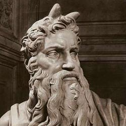 horned Moses