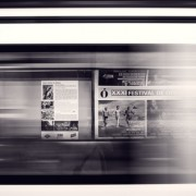 International marketing – adverts on a train line