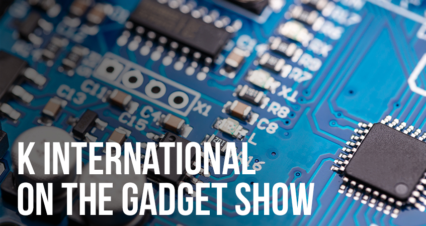 K International on the Gadget Show