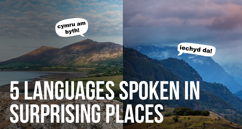 5 Languages Spoken in Surprising Places