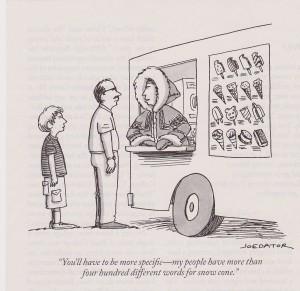Cartoon by Joe Dator in the New Yorker, 09/29/2014.