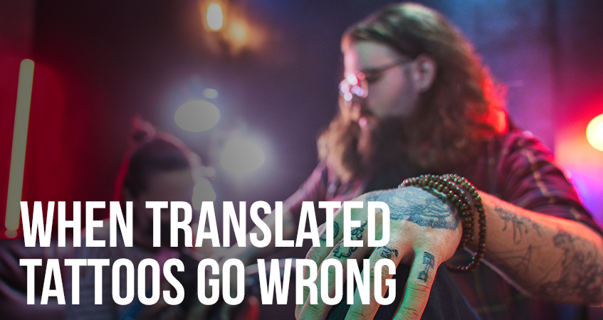 When Translated Tattoos go Wrong