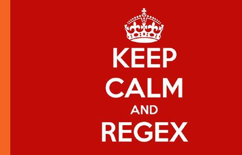 Keep Calm and Regex - A presentation by Angela Madrid