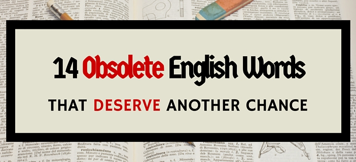Obsolete English Words