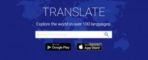 Translation Apps 1