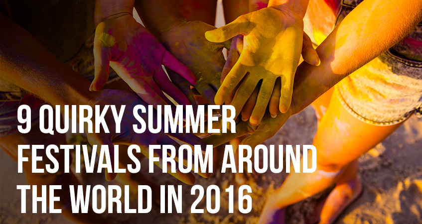 9 Quirky Summer Festivals From Around The World In 2016