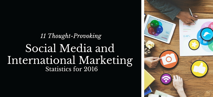 international marketing social media statistics