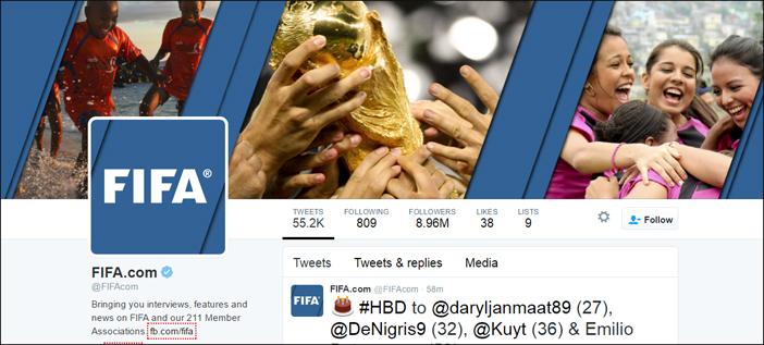 FIFA social media translation