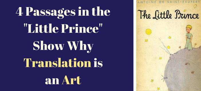 little prince translations