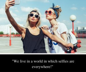 selfies everywhere