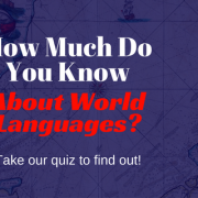 world languages quiz