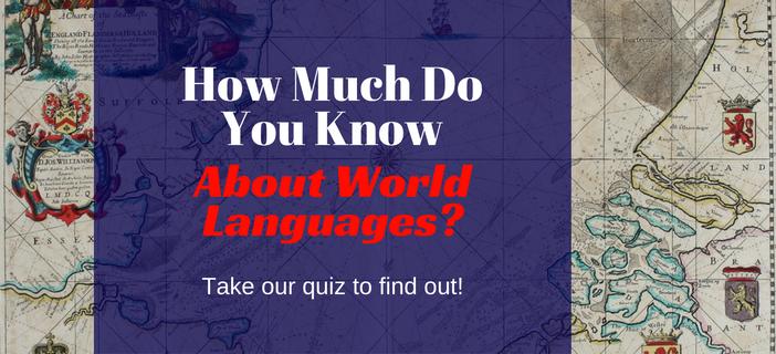 world languages quiz