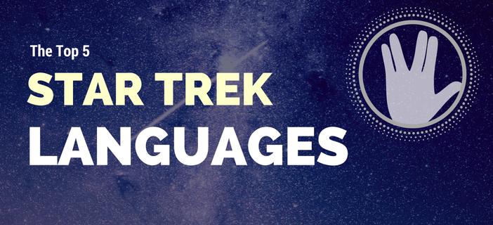 star trek languages