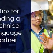 tips for finding a technical language partner