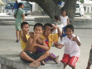 children_in_bairiki_square_tarawa_kiribati