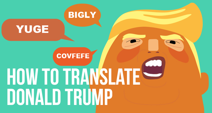 How to translate Donald Trump