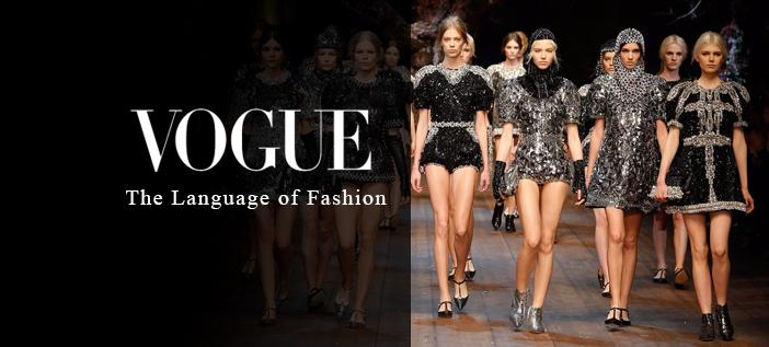 vogue the language of fashion