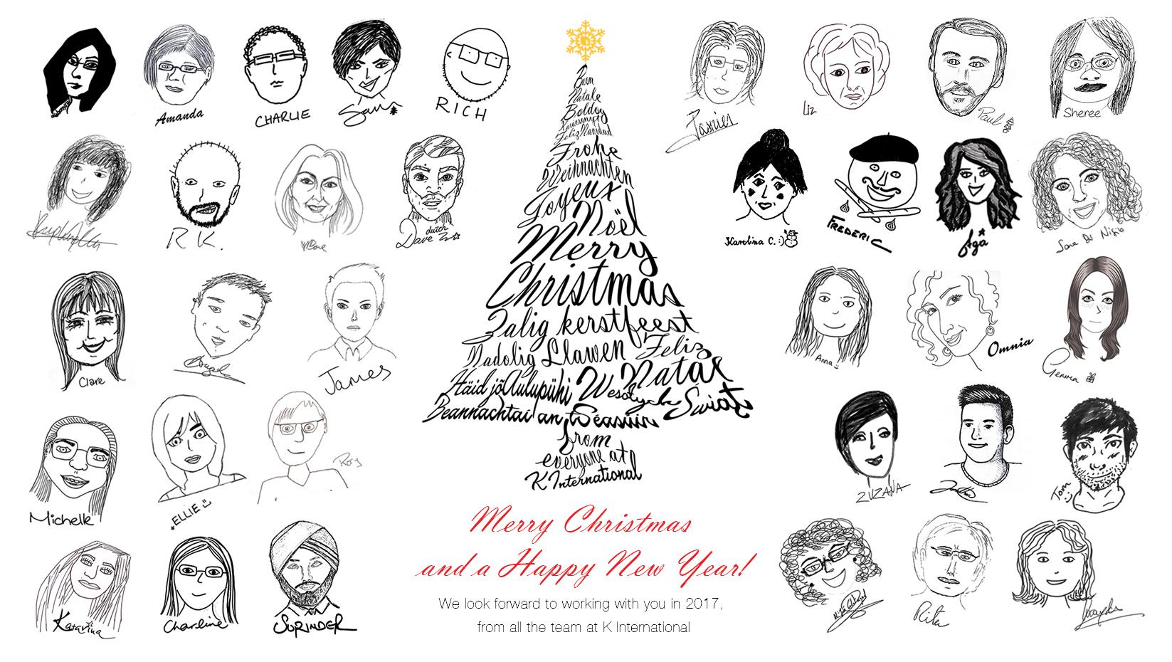 K International Christmas 2016