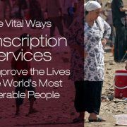 transcription services for the vulnerable