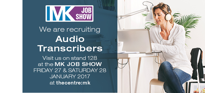 Audio Transcribers at MK Job Show