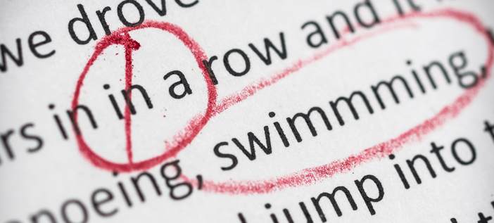 proofreading terms